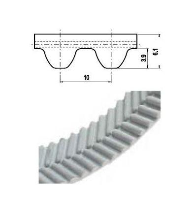 100 EAGLE 10M Lineár ozubený remeň s otv.koncom